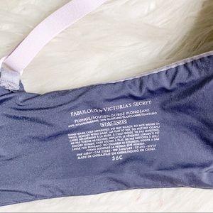 Victoria's Secret Intimates & Sleepwear - VS | Fabulous Plunge Gray Bra Size 36C